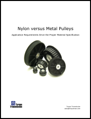Nylon vs. Metal Pulleys