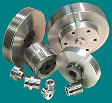 Custom Multi Ribbed Pulleys