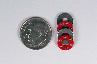 Miniature Thrust Bearings - 4mm