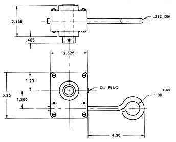 custom speed reducers diagram