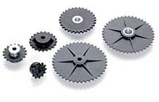 nylon roller chain sprockets