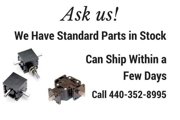 Mini Right Angle Helical Gear Box MODEL RA-202-P1 1:1 Panel