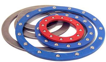 Stainless steel and carbon steel thrust bearing
