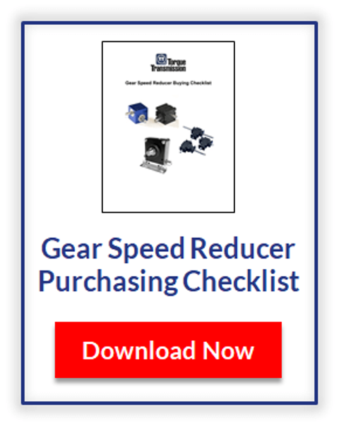 Download the Speed Reducer Buying Checklist