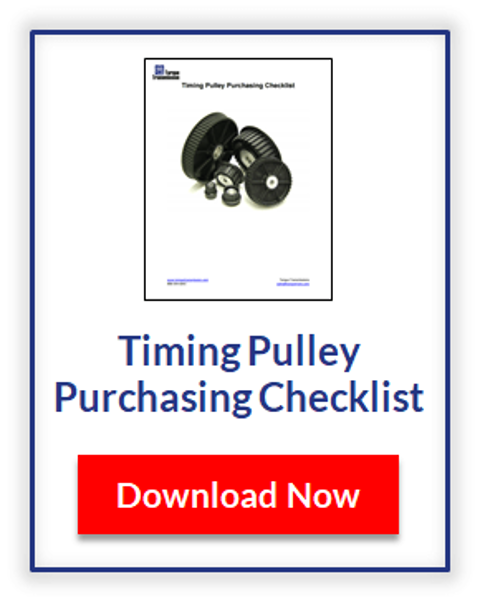 L Series Timing Pulley - 3/8 Pitch Timing Pulley | Torque